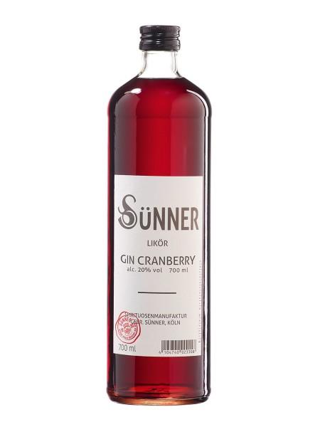 SÜNNER Gin Cranberry