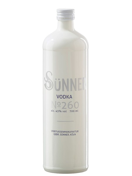 SÜNNER Vodka No. 260